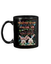 TO MY DAUGHTER-IN-LAW - RABBIT - CIRCUS Mug back