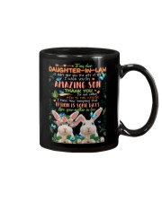 TO MY DAUGHTER-IN-LAW - RABBIT - CIRCUS Mug front