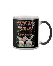 TO MY DAUGHTER-IN-LAW - RABBIT - CIRCUS Color Changing Mug thumbnail