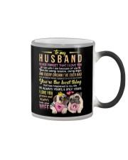 MUG - TO MY HUSBAND - PUG - I LOVE YOU Color Changing Mug thumbnail