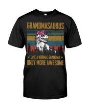 GRANDMA- SAURUS - AWESOME Classic T-Shirt front