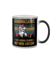 GRANDMA- SAURUS - AWESOME Color Changing Mug thumbnail