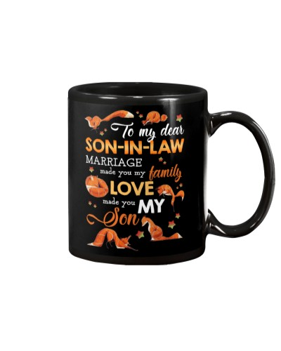 TO MY SON-IN-LAW - FOX - LOVE MADE YOU MY SON
