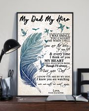 MY DAD MY HERO 16x24 Poster lifestyle-poster-2