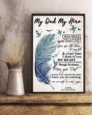 MY DAD MY HERO 16x24 Poster lifestyle-poster-3