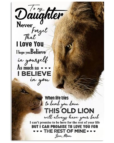 TO MY DAUGHTER - LIONESS - NEVER FORGET THAT
