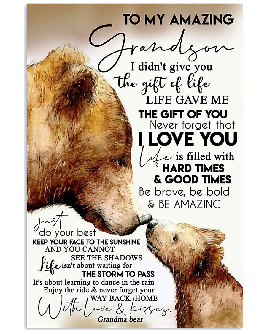 GRANDMA TO GRANDSON 16x24 Poster