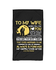 TO MY WIFE Hand Towel thumbnail