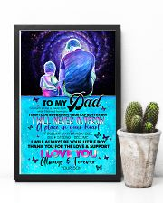TO MY DAD - SITTING TOGETHER - SO MUCH OF ME 16x24 Poster lifestyle-poster-8