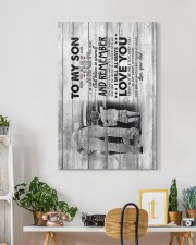 Dad to Son - Never Feel That You Are  20x30 Gallery Wrapped Canvas Prints aos-canvas-pgw-20x30-lifestyle-front-03