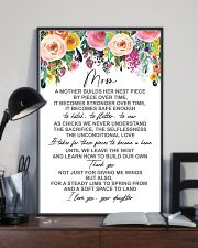 POSTER - TO MY MOM - FLOWER 16x24 Poster lifestyle-poster-2