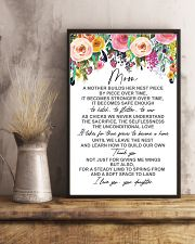 POSTER - TO MY MOM - FLOWER 16x24 Poster lifestyle-poster-3