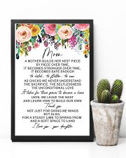 POSTER - TO MY MOM - FLOWER 16x24 Poster lifestyle-poster-8