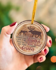 Mom To Daughter If There Ever Comes A Day  Circle ornament - single (porcelain) aos-circle-ornament-single-porcelain-lifestyles-09
