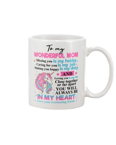 TO MY WONDERFUL MOM