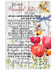 TO MY BEAUTIFUL SISTER 16x24 Poster front