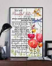TO MY BEAUTIFUL SISTER 16x24 Poster lifestyle-poster-2