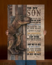 Saurus - T rex - Never Feel That You Are Alone  20x30 Gallery Wrapped Canvas Prints aos-canvas-pgw-20x30-lifestyle-front-22