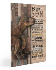 Saurus - T rex - Never Feel That You Are Alone  20x30 Gallery Wrapped Canvas Prints front