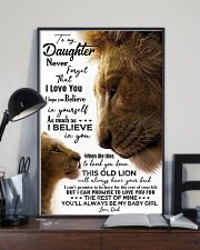 TO MY DAUGHTER - LION - BABY GIRL 16x24 Poster lifestyle-poster-2