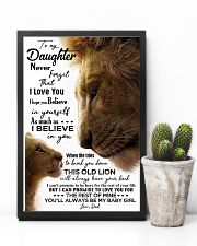 TO MY DAUGHTER - LION - BABY GIRL 16x24 Poster lifestyle-poster-8
