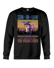 SON-IN-LAW - DRAGON -VINTAGE - YOU VOLUNTEERED Crewneck Sweatshirt thumbnail