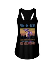 SON-IN-LAW - DRAGON -VINTAGE - YOU VOLUNTEERED Ladies Flowy Tank thumbnail