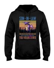 SON-IN-LAW - DRAGON -VINTAGE - YOU VOLUNTEERED Hooded Sweatshirt thumbnail