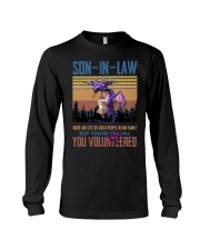 SON-IN-LAW - DRAGON -VINTAGE - YOU VOLUNTEERED Long Sleeve Tee thumbnail