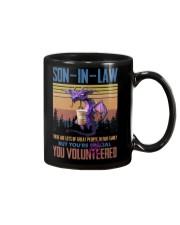 SON-IN-LAW - DRAGON -VINTAGE - YOU VOLUNTEERED Mug thumbnail