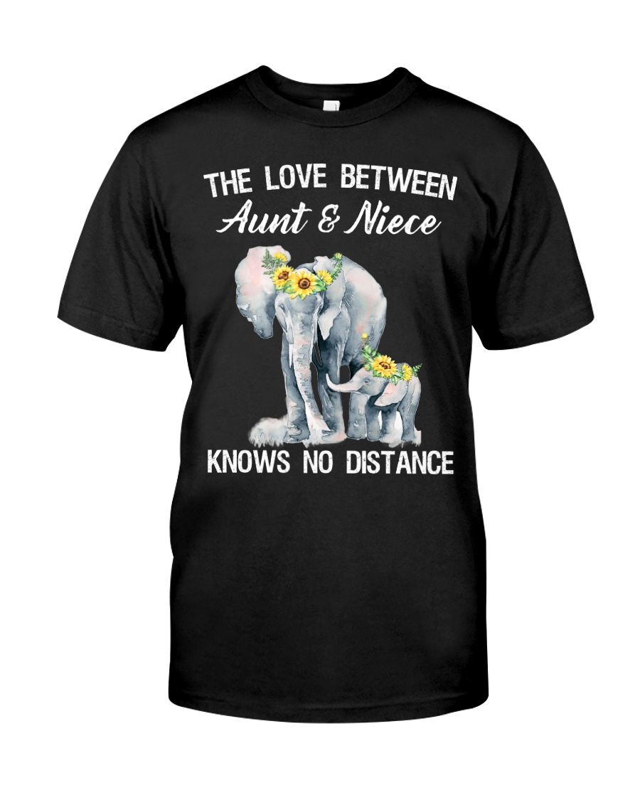The love between Aunt and Niece knows no distance Classic T-Shirt
