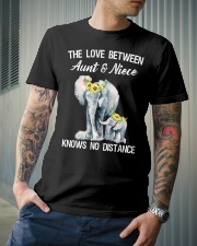 The love between Aunt and Niece knows no distance Classic T-Shirt lifestyle-mens-crewneck-front-6