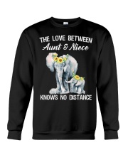 The love between Aunt and Niece knows no distance Crewneck Sweatshirt thumbnail