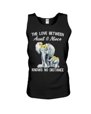The love between Aunt and Niece knows no distance Unisex Tank thumbnail