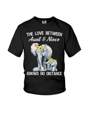 The love between Aunt and Niece knows no distance Youth T-Shirt thumbnail