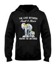 The love between Aunt and Niece knows no distance Hooded Sweatshirt thumbnail