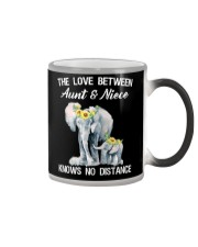 The love between Aunt and Niece knows no distance Color Changing Mug thumbnail
