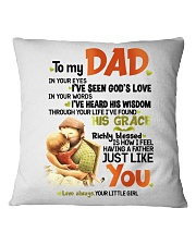 DAUGHTER TO DAD Square Pillowcase tile