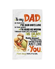 DAUGHTER TO DAD Hand Towel tile