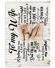 To Wife - Hands - Meeting You Was A Fate - Poster 16x24 Poster front