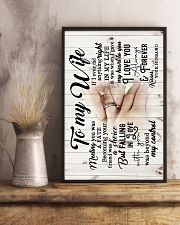 To Wife - Hands - Meeting You Was A Fate - Poster 16x24 Poster lifestyle-poster-3