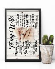 To Wife - Hands - Meeting You Was A Fate - Poster 16x24 Poster lifestyle-poster-8