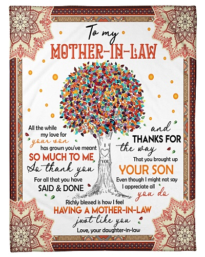 TO MY MOTHER-IN-LAW - TREE