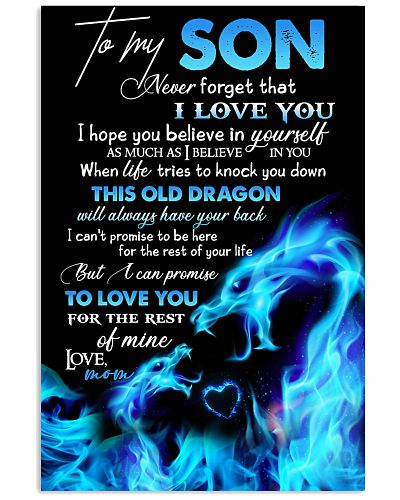 POSTER - TO MY SON - THIS OLD DRAGON