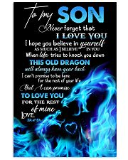 POSTER - TO MY SON - THIS OLD DRAGON 16x24 Poster front