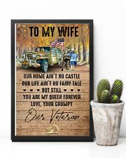 To My Wife - Veteran - You Are My Queen Forever 16x24 Poster lifestyle-poster-8