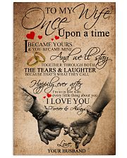 TO MY WIFE 16x24 Poster front