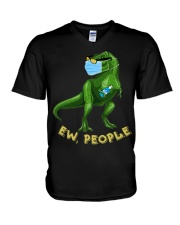 T-SHIRT - T REX - EW PEOPLE V-Neck T-Shirt thumbnail
