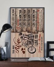 Wife - Motorcycling - When I Say I Love You More 16x24 Poster lifestyle-poster-2