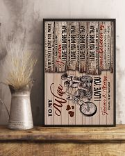 Wife - Motorcycling - When I Say I Love You More 16x24 Poster lifestyle-poster-3